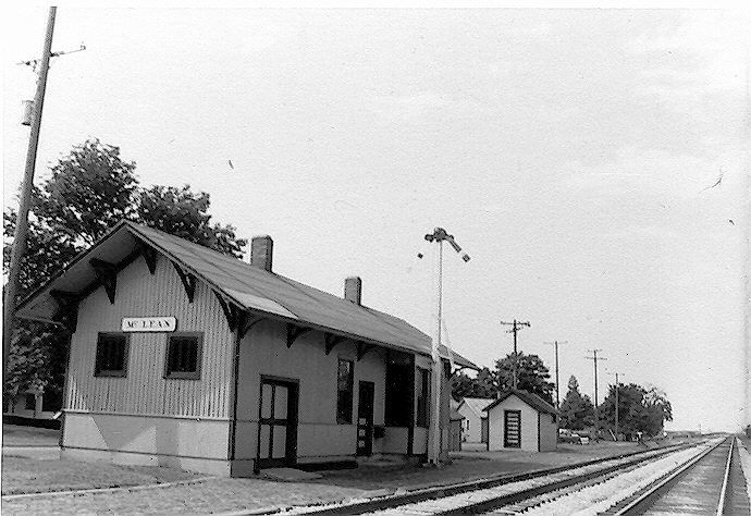 McLean Depot Train Shop